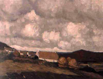 Achill Cottages by Paul Henry