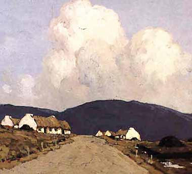 The Road to the Mountains by Paul Henry