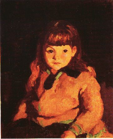 Birdeen by Robert Henri