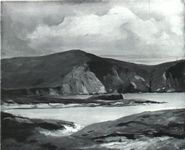 Minaun Cliffs, Achill, by Robert Henri