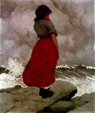 Paul Henry - The Watcher | Pictures from Achill 24/