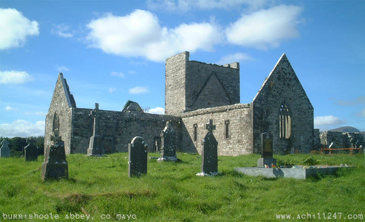 ireland pictures - Burrishoole Abbey, Co Mayo