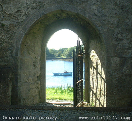 Burrishoole Abbey, Co Mayo, Ireland