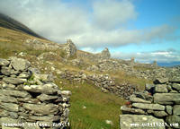 Deserted village, Achill (78KB)