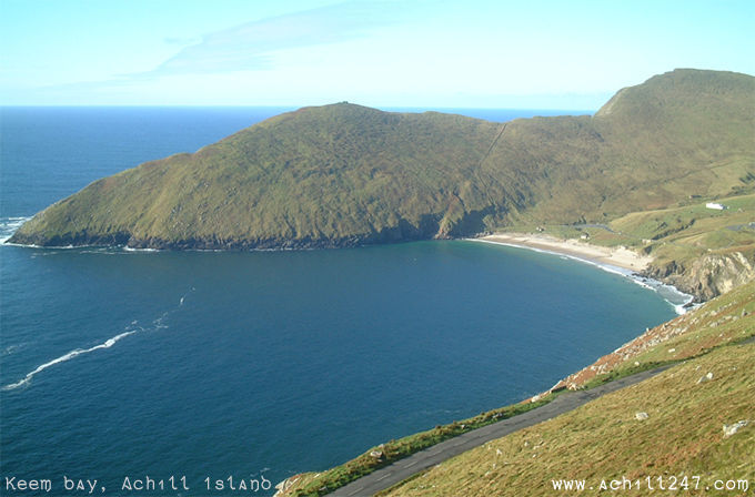 ireland pictures - Keem Bay, Achill Island